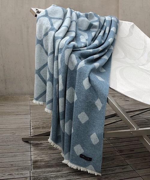 Plaid Virtual Fiordo 140 x 180 in misto lana merino