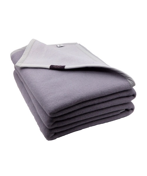 Coperta Target Crema 160 x 210 in pura lana vergine