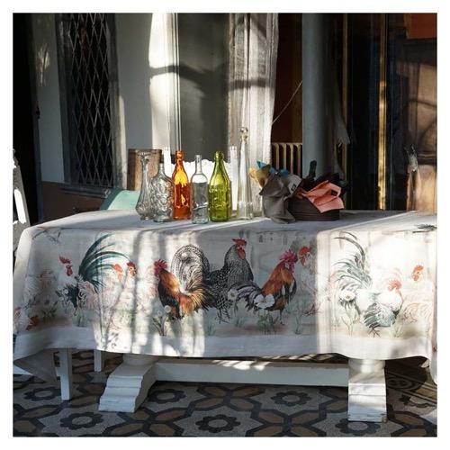 Tovaglia Gauloise in lino 170 x 310