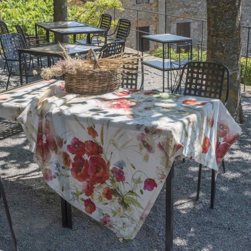 Tovaglia Coquelicot in lino 170 x 270
