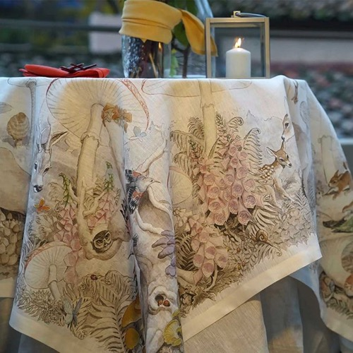 Tovaglia Brocelandia in lino 160 x 230