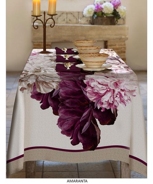 Tovaglia Amaranta in cotone 150 x 240